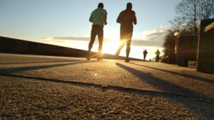 Walking to Run: First Steps